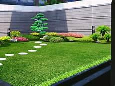 Desain Taman Bunga Belakang Rumah Ideku Unik