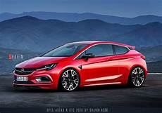 Opel Astra K Gtc 2016 By Shahin Project By Tuninger On