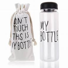 my bottle 500ml clear my bottle sports plastic fruit juice water bottle portable bag ebay