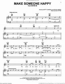 make someone happy sheet music for voice piano or guitar