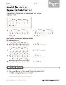 division as repeated subtraction worksheets for grade 1 6768 model division as repeated subtraction worksheet repeated subtraction subtraction worksheets