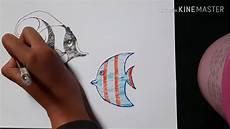 Mudah Gambar Pemandangan Laut Dengan Pulpen Lihat