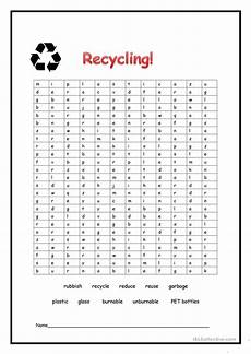 recycling worksheet free esl printable worksheets made by teachers