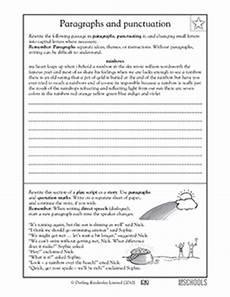 dialogue punctuation worksheet 4th grade 20954 5 176 grado ejemplos de escritura la escritura worksheets punctuating a paragraph greatschools