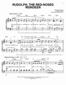 download rudolph the red nosed reindeer sheet music by johnny marks sheet music plus