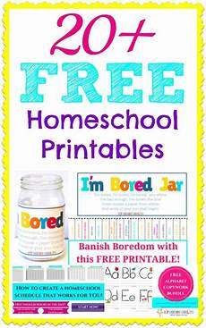 20 free homeschool printables learning at home homeschool kids learning activities