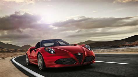 Alfa Romeo 4c Spider 2015 Wallpapers