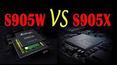 Amlogic S905w by Amlogic S905w Vs S905x Tv Box 4k Play Test Compare