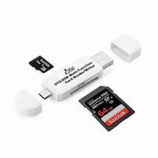 Smart Support Card Memory by Micro Usb Sd Flash Memory Card Adapter Reader Smart Phone