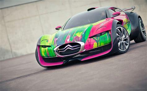 Citroen Survolt Concept Car Wallpaper