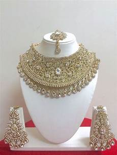 bollywood style fashion gold plated bridal jewelry