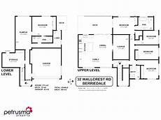 house plans tasmania 32 wallcrest road berriedale tas 7011 floorplan