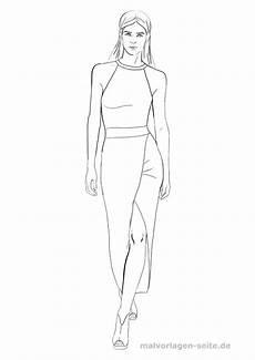 Topmodel Ausmalbilder Mit Kleidung Model Ausmalen Topmodel Malvorlage Kleid Malvorlagen