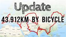 43 912km mit dem fahrrad unsere route update fahrrad