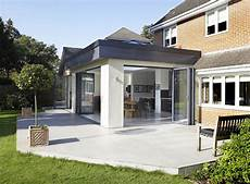 modern glass house open landscaping decorations orangery kitchen extension garden room extensions house