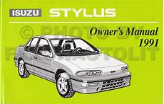 old car manuals online 1993 isuzu stylus user handbook 1992 isuzu stylus rs related infomation specifications weili automotive network