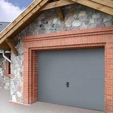 porte de garage wayne dalton 250x212 5 cm gris sans