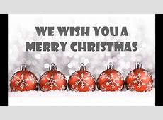 we wish a merry christmas lyrics