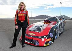 NHRA Courtney Force Wins Father John In