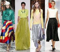 Skirt Fashion Trends Summer 2016 Cinefog
