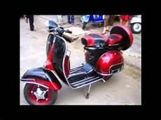 Modif Vespa Klasik by Motor Antik Modifikasi Vespa Klasik