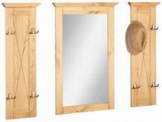 garderobenpaneel mit spiegel home affaire garderobenpaneel 187 alva 171 mit spiegel in 3
