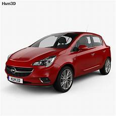 Corsa E Forum - opel corsa e 5 door 2014 3d model vehicles on hum3d