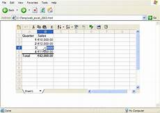 create an interactive excel web page