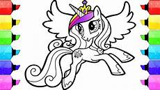 my pony coloring book pages cadence how to draw