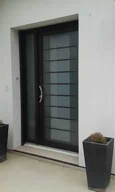 porte d entrée avec tierce dov ouvertures porte d entree tierce en alu k line 224