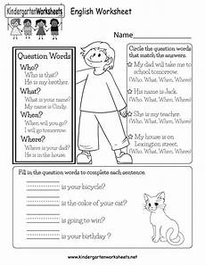 worksheets questions 19028 this is a question words worksheet for kindergarteners can learn to use them in sentences