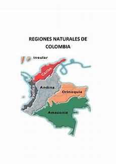 ubicacion de los simbolos naturales en el mapa de venezuela calam 233 o regiones naturales de colombia