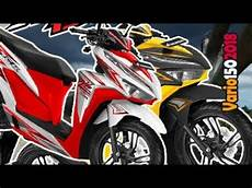 Modifikasi New Vario 150 2018 by Puaspuasin Inilah 8 Warna Modifikasi Striping Honda New