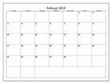 16 Best Kalender Februar 2019 Zum Ausdrucken Images 2019