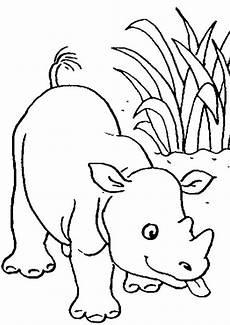 Bilder Zum Ausmalen Nashorn Ausmalbilder Nashorn 20 Ausmalbilder Tiere
