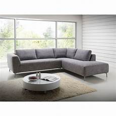 Canap 233 D Angle Moderne Koon Tissu Gris Chin 233 Atout