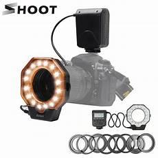 Shoot 103c Macro Ring Flash Light by Shoot Xt 103c Macro Led Ring Flash Light Speedlight