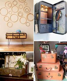 alte koffer dekorieren 18 ideas how to reuse suitcases in home decor