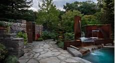 parete giardino 6 idee per il giardino con l acciaio corten info acciaio