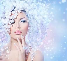 winter beauty image of hairstyle eyelashes 35834018