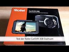 rollei cardvr 308 produkttest test dashcam auto