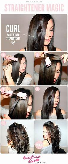 easy hairstyles with straightener unexpected hairstyles you can pull off with your