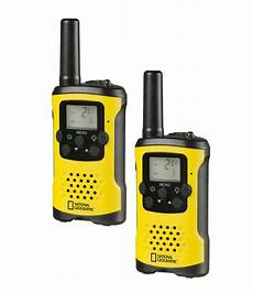 national geographic fm walkie talkie 2piece set with large