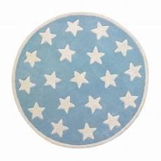 teppich star kids concept teppich star hellblau kleine sterne 120 cm