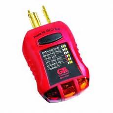ground fault indicator tester wiring diagram buy the gardner bender gfi 3501 ground fault receptacle outlet tester hardware world