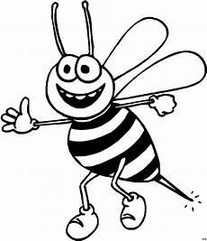 Bienen Comic Malvorlagen Biene Sticht Zu Ausmalbild Malvorlage Comics