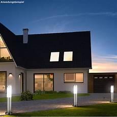 Terrasse Led Beleuchtung - 2er set led au 223 en steh leuchten garten weg strahler