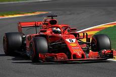 Formula 1 Vettel Leads One Two In Spa
