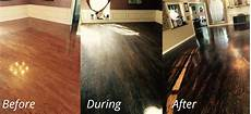 Floor Before And After by Dustless Hardwood Floor Refinishing In Dallas Fort Worth