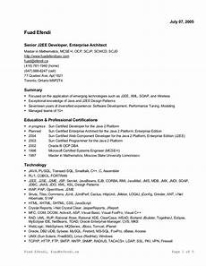resume in ms word format